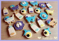 erkek bebek hoşgeldin kurabiyeleri