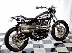 1975 Yamaha XS650 Street Tracker by Cycle Sports