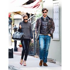 - THROWBACK -  #OliviaPalermo looks #stylish as usual while #out and about with her #hubby #JohannesHuebl in #NewYorkcity. #Padgram