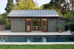 Longfellow Drive - contemporary - Pool - Los Angeles - Kirkpatrick Architects