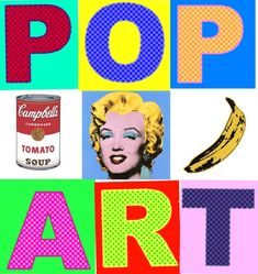 Pop Art Acrylic Transfers | Henrico 21 | color / pop art ...