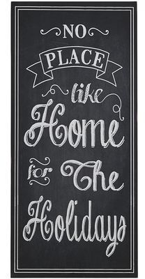 Home for the Holidays Wall Decor
