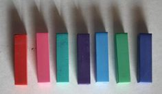 Hair Colored Chalk - Temporary Color Pastels, Pick Your Color. $3.00, via Etsy.