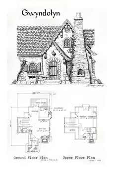 The Gwyndolyn - If you love to dream over plans of fantastic cottages and manor houses, this is the website for you.