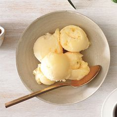Spiced Sherbert w honey & OJ         Spiced Fresh Orange and Honey Sorbet Recipe  at Epicurious.com