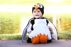 Cutest EVER Penguin Costume (okay, maybe the little girl in it is super adorable, but the costume is cute, too)
