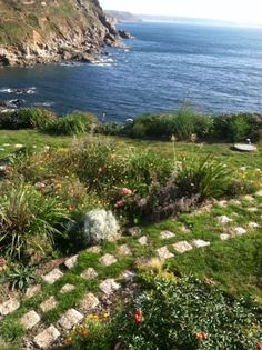 garden at Cape Cornwall
