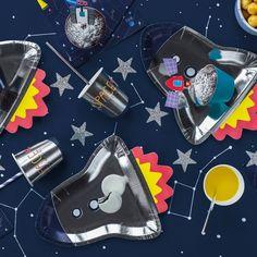 30 vaisseau Spatial Fusée boîtes alimentaires ~ ~ repas pique-nique boîte Astronaute Fête D/'Anniversaire Sac