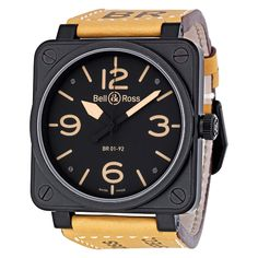 Bell and Ross Men's Heritage Watch