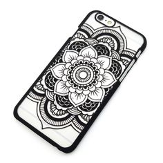 Beautiful Floral Henna Paisley Mandala Palace Flower Phone Cases Cover For iPhone 7 5 5G 5S 5C SE 6 6G 6S 6Plus
