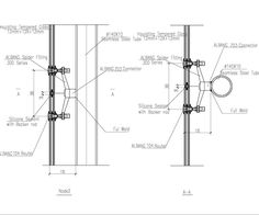 Steel structure design with spider fitting 2