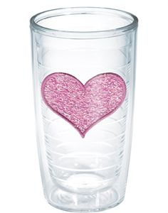 I WANT!!!!   Exclusives | Pink Heart - Confetti Fabric + Embroidery | Pink Heart - Confetti Fabric + Embroidery | Tumblers, Mugs, Cups | Tervis