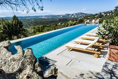 An exquisite Italian villa perched in the mountains of Sardinia