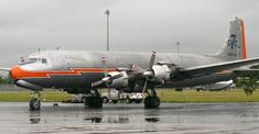 rare alaskan aircraft | Douglas DC-7 is a very rare sight. The aircraft on the picture, a DC ...