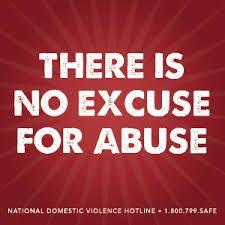 #DomesticAbuse #NoMoreExcuses #LoveIsRespect