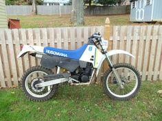1987 Husqvarna 250Wr enduro, ..bought for $800, but because I sold the other one I also had for $800, it's like getting a free bike..still have it