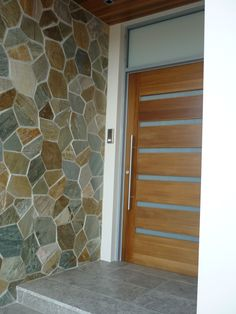 Highlighting the front door to your home #bisque #paving #crazypaving