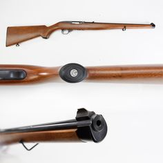 Ruger 10-22 International Rifle – Fitted with a full-length walnut Mannlicher style stock, this 10-shot Ruger .22 was part of the first production run from 1966 to 1969.  Somehow this version didn't catch on, and it wasn't until 1994 that another batch was to be made. Style-wise, we can confirm that this European patterned gun is a piece that attracts a good bit of attention on display.