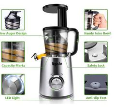 Buy this Argus Le Slow Masticating Juicer with deep discounted price online today.