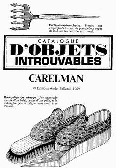 Catalogue d'Objets Introuvables – Jacques Carelman at Me, myself and I