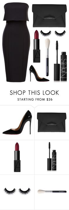"""Untitled #81"" by rodoulla97 on Polyvore featuring Christian Louboutin, Givenchy and NARS Cosmetics"