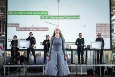 Opera kolejowa na Dworcu Wschodnim w Warszawie - Program - 250 lat Teatru Publicznego w Polsce Program, My Works, Opera, Ballet Skirt, Costumes, Skirts, Clothes, Fashion, Moda