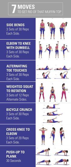 Ab burning exercises.