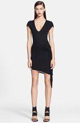 Helmut Lang Side Detail Jersey Dress