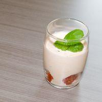 Ricottamousse met tomaat en basilicum : Koolhydraatarme recepten