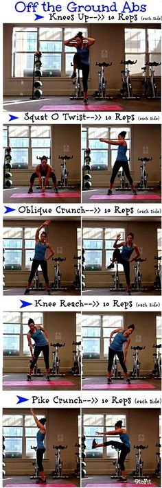 Off the Ground Ab #Workout