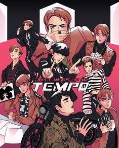 #exo #exo_tempo #dont_mess_up_my_tempo