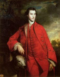 """""""Charles Lennox, 3rd Duke of Richmond and Lennox"""" (1758) by Sir Joshua Reynolds ... Charles was the great-grandson of Charles II and his mistress, Louise de Kérouaille."""