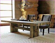 Depiction of Emmerson Dining Table: Rustic Value Maker