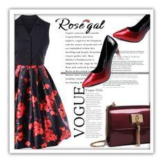 """Rosegal"" by maya-devojka ❤ liked on Polyvore featuring vintage"