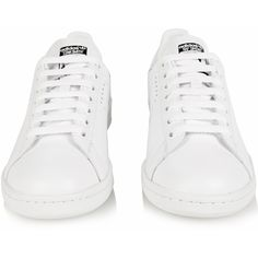 more photos 2a7f3 1d4b2 Raf Simons X Adidas Stan Smith leather trainers (37585 RSD) ❤ liked on  Polyvore. Cheap Adidas ShoesSneakers ...