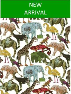 Queue for the Zoo C by theLibertyBazaar on Etsy