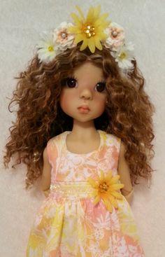 A Sunny Day Dress and Headband for Kaye Wiggs Layla, Talyssa--MSD-