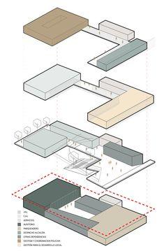 Plan Concept Architecture, Architecture Program, Library Architecture, Architecture Presentation Board, Architecture Concept Drawings, Pavilion Architecture, Cultural Architecture, Architecture Graphics, Architecture Diagrams