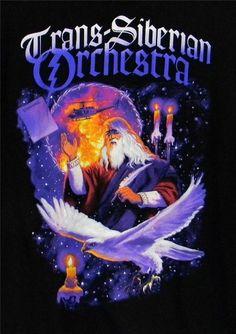 Trans Siberian Orchestra Winter Tour 2011 T-Shirt XL Black Concert Tee #Anvil #GraphicTee