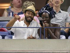 A host of celebrity guests were spotted at the Emirates suite at the 2016 US…