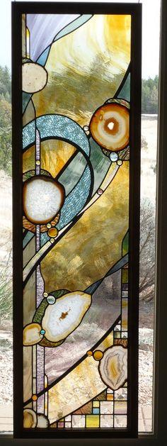 teinté de verres exquis main européen soufflé de verre fenêtre