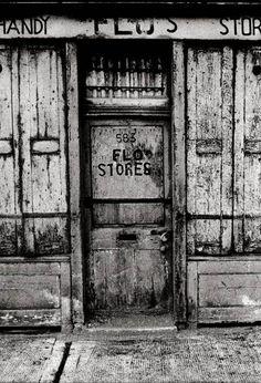 Flo's Stores, Spitalfields, 1962 Vintage London, Old London, London City, Candid Photography, Street Photography, Irish Catholic, East End London, Ripper Street, London History