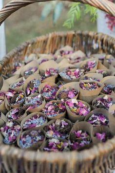 creativas alternativas al arroz de boda