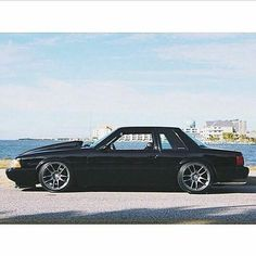 tag-> repost from where all the slammed Stangs are –> / owner 1993 Ford Mustang, Fox Body Mustang, Mustang Cars, Notchback Mustang, Ford Fox, Old School Cars, Ford Fairlane, Pony Car, Drag Cars