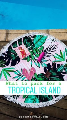 Travelling to a tropical island can be a relaxing getaway, or it can be a nightmare if you forget to pack the essentials. Here is a list of what to pack. Fantasy Island, What To Pack, Packing Tips For Travel, Movies Online, Beach Mat, Travelling, Road Trip, Outdoor Blanket, Forget