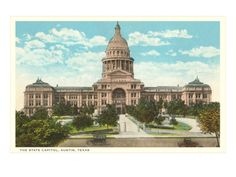 Texas, the Lone Star State, Yosemite National Park, National Parks, Texas State Capitol, State Mottos, Moving To Texas, Capitol Building, Texas Homes, Ways Of Seeing, Texans