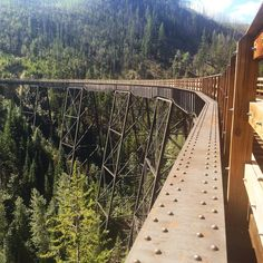 Kettle Valley Railway in Myra Canyon, Okanagan, Kelowna BC Canada Fraser Valley, Wedding Portraits, Portrait Photographers, Kettle, Travel Photography, Hiking, Canada, Adventure, Nature