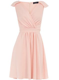 Light Pink Rehearsal Dinner Dress