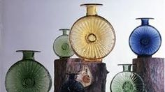 Aurinkopullot by Tynell Glass Design, Design Art, Glass Bottles, Glass Vase, Lassi, Glass Ceramic, Modern Contemporary, Retro Vintage, Nostalgia