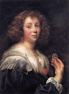 Jacob Jordaens (Flemish artist, 1593-1678) Elizabeth Jordaens 1638